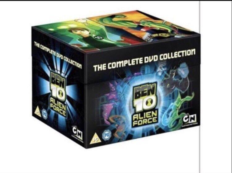 Ben 10 Alien force dvd box set