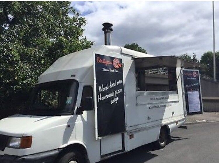 Converted Woodfired Pizza Van
