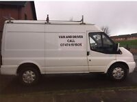 Van and driver available
