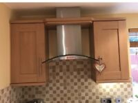 Cooker extractor fan