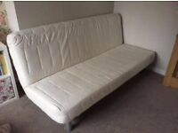 Ikea beddinge lovas sofa bed, white cover, Can Deliver