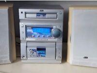 Jvc cassette CD player