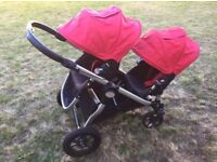 Double buggy: Baby Jogger City Select with extras!