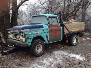 4x4 Chevy Apache frame