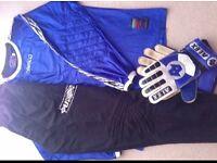 Used adult goalkeeper kit