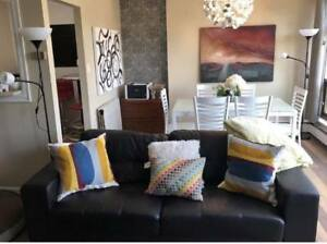Beautiful Fully Furnished Apartment for sublet across from Dal