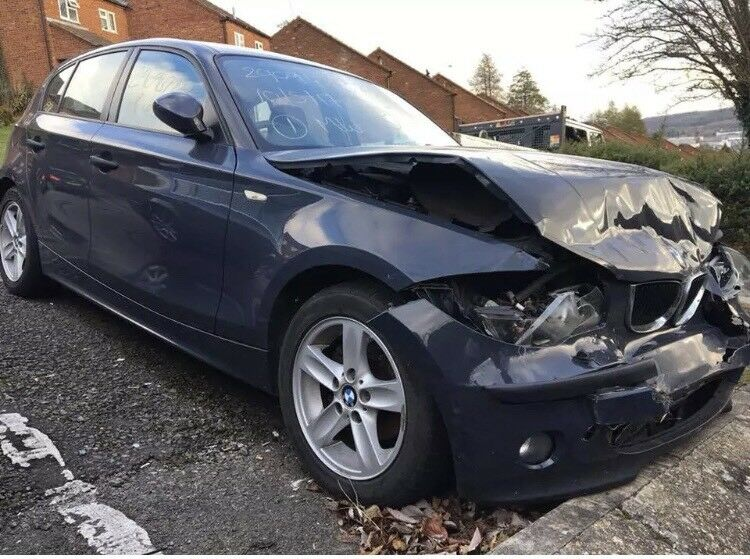 2006 bmw 1 series 118d es 5 door accident damaged repairable in high wycombe. Black Bedroom Furniture Sets. Home Design Ideas
