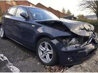 2006 BMW 1 SERIES 118d ES 5 DOOR (ACCIDENT DAMAGED REPAIRABLE)