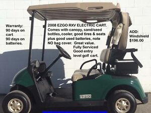 GOLF CARTS OF ALL SORTS!
