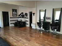 Hairdresser wanted full time or part time. Also chair and mirror stands available to rent