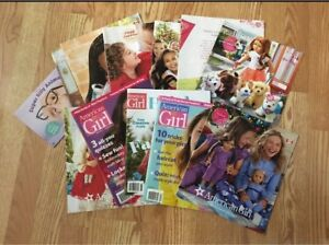 American girl magazines and catalogs