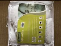 Micro lite Single Mattress Topper Pad BRAND NEW