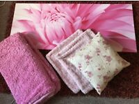 Girly Pink Bedroom Accessories