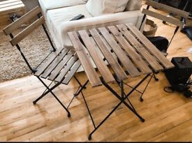 Ikea Tarno garden table and chairs