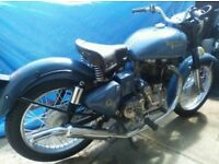 Royal Enfield 500cc time warp with only 1km