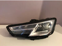 Genuine Audi A4 B9 Facelift Xenon Passengers Side Headlight 2016-2017-