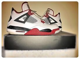 Jordan IV fire red retro (used literally a couple of times).
