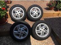 80spec ford escort XR3i wheels