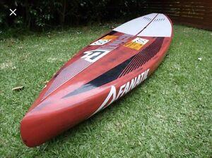 Fanatic Falcon Carbon SUP Board - Race Terrigal Gosford Area Preview