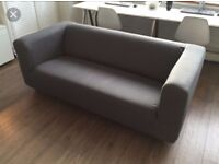 Ikea 3 Seater Klippan sofa with removable covers