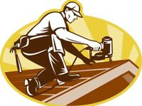 Roofer with over 25 years experience