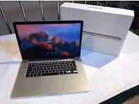 """Apple MacBook Pro 15"""" retina 2.3Ghz 16GB SSD Logic Pro X Final Cut Pro Adobe cs6"""