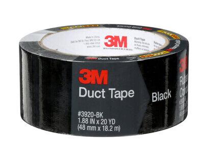 - 3M Duct Tape Scotch Black Duct Tape 1.88
