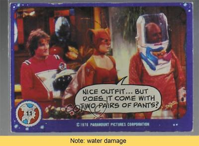 1978 Topps Mork & Mindy #11 Nice Outfit READ Non-Sports Card 2u3 (Mork Outfit)