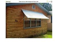 Cabin and Lot. Old campground. Clear Lake. $79,000