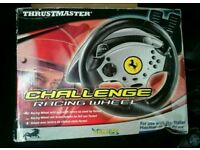 Thrustmaster Ferrari Challenge PlayStation Racing Wheel with Pedals and a Controller