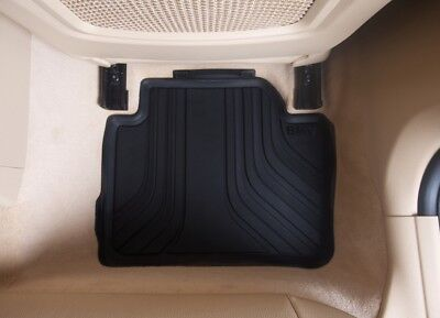 Genuine BMW All Weather Rubber Floor Mats Rear F303136 PN51472219802 new UK