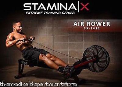 Stamina X AIR ROWER Rowing Machine 35-1412 - Cardio Exercise