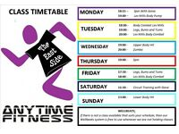 Unlimited Free Fitness Classes Throughout November