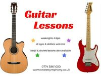 Guitar Lessons - only £9.50 a lesson!