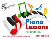 Piano Lessons - only £9.50 a lesson!