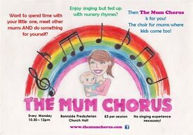 NEW choir for Mums and Babies!