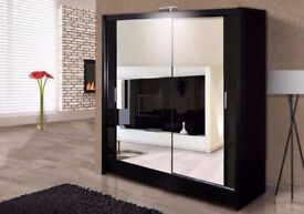 💗💖CLASSIC SALE💗💖High Quality Berlin Sliding Door Wardrobe - SAME DAY DELIVERY!