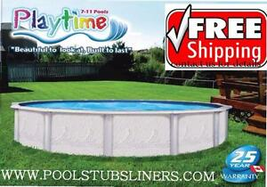 Above Ground Swimming Pool and Liner Spring Sale!
