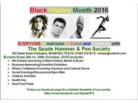 Black History Month Celebration 2016
