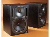 Two Behringer B2030A Truth Active 2-Way Reference Monitors