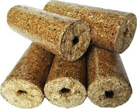 Wood Briquettes Heat Logs Free Delivery N Ireland/ROI Full and Half Pallets