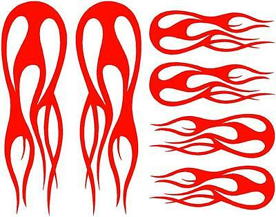 BIKE FRAME DECALS STICKERS FLAME FOR ROAD AND MOUNTAIN FRAME #15