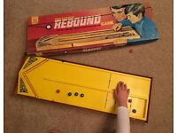 Two Cushion Rebound vintage 1970s game by Ideal