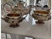 georgian 3 piece tea set