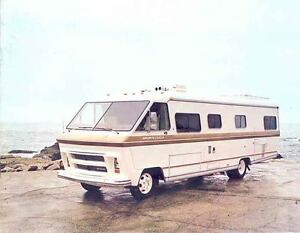 Details about 1978 Sportscoach Chevrolet Dodge Motorhome RV Brochure