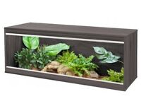 Large Vivarium, thermostat, and heat mat
