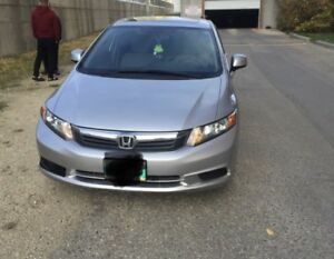 2012 - Honda Civic - Ex - No Accidents