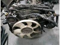 Ford transit 2,4 Compelete engine and box
