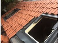Roof services Repairs Slates,Tiles, Chimneys, Gutters, Fiberglass Roofing, Ridges , roofer