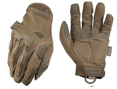 Mechanix Wear MPT-72-009 Men's Coyote Brown M-Pact Gloves TrekDry - Size Medium